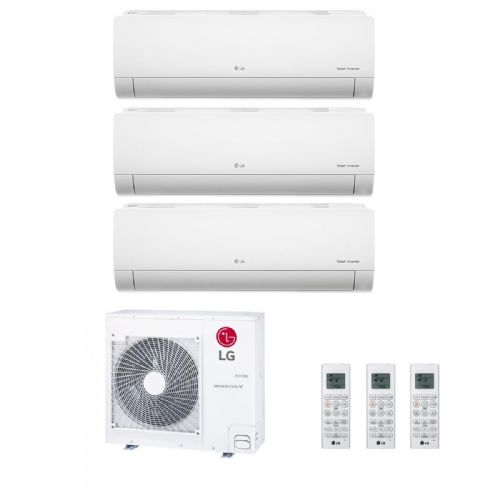 Lg Air Conditioning MU4M25-U44 Multi Inverter Heat Pump Wall  3 x 3.5Kw Standard Plus A++ 240V~50Hz
